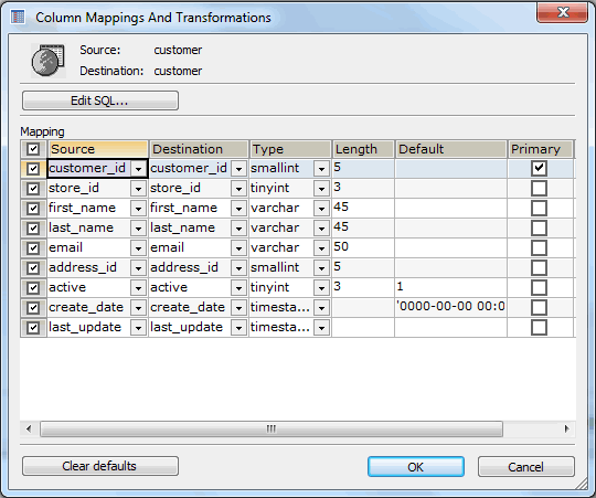 SQLyog's power tool to interactively import external data to MySQL